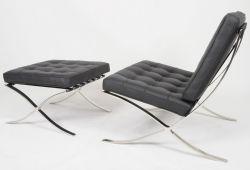 Barcelona Chair And Ottoman