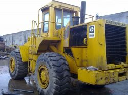 Used Cat966d Hydraulic Wheel Loader