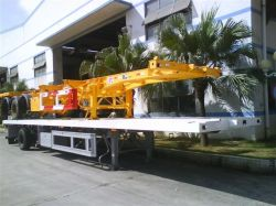 Hot Sale Low Bed Semi Trailer