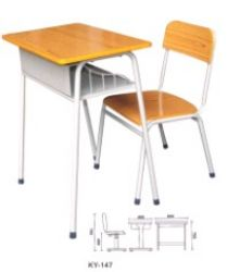 School Classroom Furniture, Student Chair And Desk