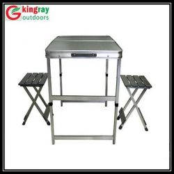 Foldable Dinning Table Chair Set