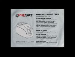 Presat Feeder Cleaning Card 105912-912