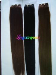 22 Inches More Color Indian Hair Weft Hair
