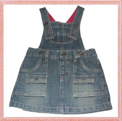 Hot Sale Denim Children Dress
