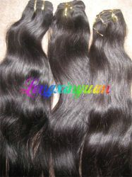 16 Inches 1b# Brazilian Hair Weaving Hair