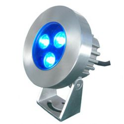 3*1w Blue Led Stainless Steel Underwater Light