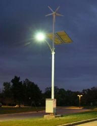 Wind And Solar Hybrid Light