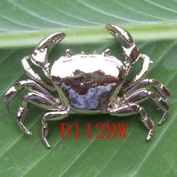 Crab Brooch /b112bw