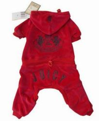 Juicy Couture Dog Tracksuit,pet Clothes