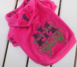 Juicy Couture Pet Clothes,juciy Dog Hoodies