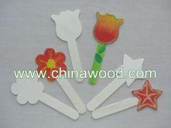 Wooden Shaped Craft Sticks