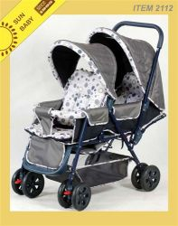Twin Baby Stroller 2112