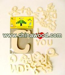 Craft Wooden Letters