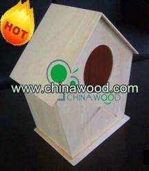 Mini Craft Decorative Wood Bird House
