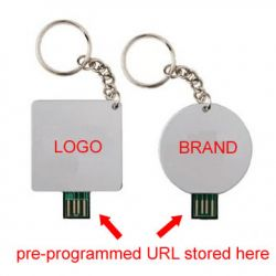 Url Preprogrammed Usb Webkey For Direct Mail Ad