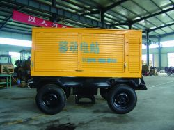 Trailer Generator Set, Portable Generator