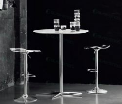 Hotel Furniture - Bar Furniture - Modern Glass Bar