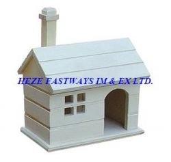 Wood Pet House