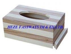 Wooden Napkin Box