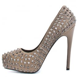 Lotoyo Spike Cork Pumps Ltyk0023