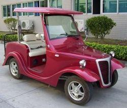 4-seat Electric Retro Car