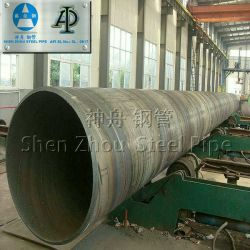 Api 5l Astm A252 A53 Grb Spiral Welded Steel Pipe,