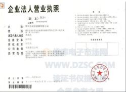 Shenzhen City Baorui Faction Trade Limited Company