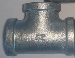 Bs143 Malleable Iron Pipe Fitting Tee