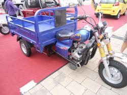 Promotion Usd780 Three Wheeler Cargo Tricycle