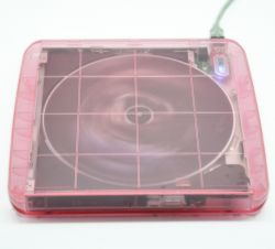 Transparent Usb 2.0 Portable Plug&play Dvd Drive