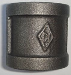 Black Malleable Iron Pipe Fitting Socket