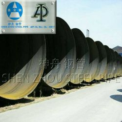 Astm A 53 Large Size Spiral Welded Steel Pipe