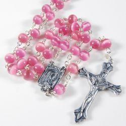 Cat\'s Eye Rosary,religious Rosary,pray Rosary