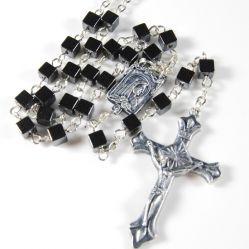 Cubic Hematite Rosary