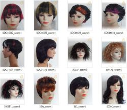 2012 New Hot Sell Short Wigs Offer Oem Service