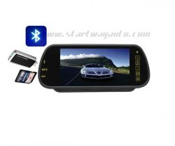 Car Bluetooth Backview Mirror