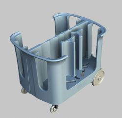 Rotational Molded Dish Caddy