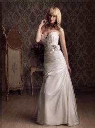 Wholesale Beading Satin Wedding Gowns