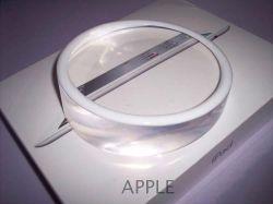 Apple Store Crystal Circle Display Base For Ipad