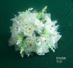 Decorative Pe Wedding  Rose Bouquet