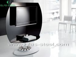Glass Tv Stand, Lcd Tv Stand, Wall Unit, Modern
