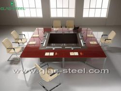 2012 Hot Modern Glass Conference Table Wc-hy001