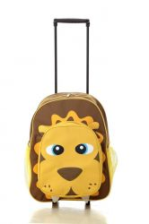 Animal Cartoon Kids Rolling Book Bags