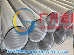 Supply V Wire Water Well Screens Pipes