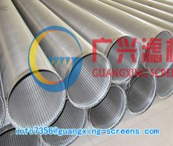 Wedge Wire Continuous Slotted Well Screen Tube