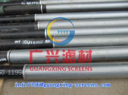 Drilling Well Casing And Screen In Stainless Steel