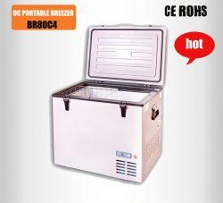Newsky 80l 12v/24v Dc Car Freezer,dc Car Fridge
