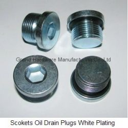 High Pressure Hydraulic Scokets Oil Drain Plugs