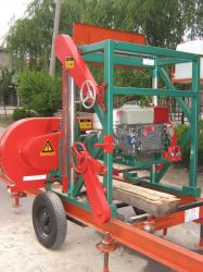 Mj1500 Portable Sawmill(diesel Engine)