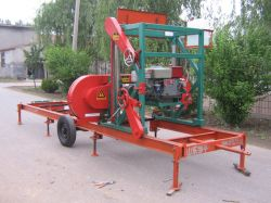 Mj750 Portable Sawmill(petrol Engine)